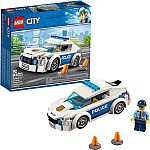 92-Piece LEGO City Police Patrol Car