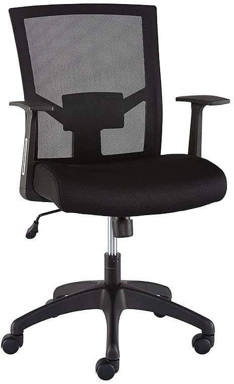 Staples Ardfield Mesh Back Fabric Task Chair