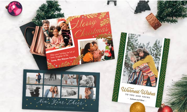Custom Holiday Cards at Staples