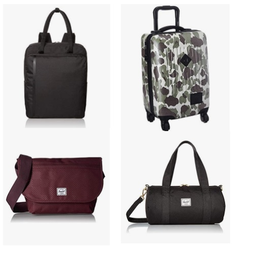 金盒特价!Amazon精选 Herschel 背包、行李箱等商品大促销!