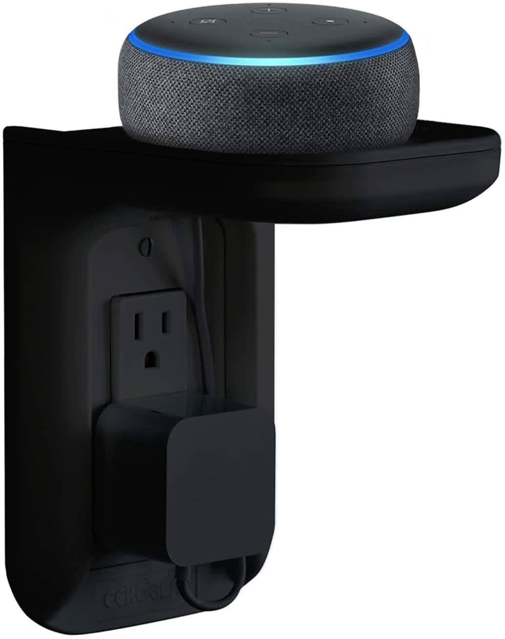 Amazon Echo Outlet Shelf
