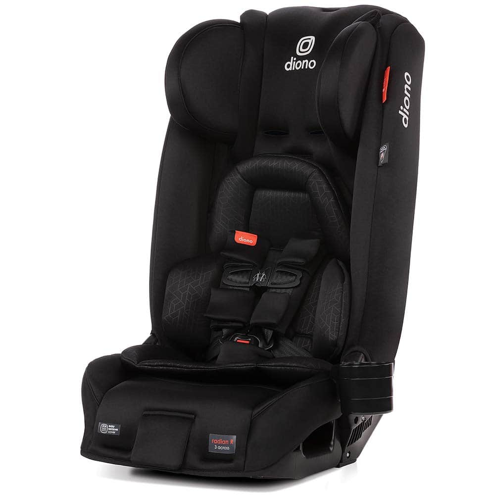 Diono Radian 3 RXT All-In-One Convertible Car Seat (Jet Black)