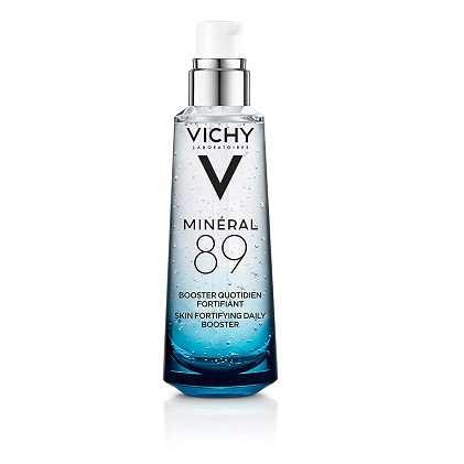 Vichy Mineral 89 Hydrating Hyaluronic Acid Serum and Daily Face Moisturizer For Stronger, Healthier Looking Skin,2.54 oz
