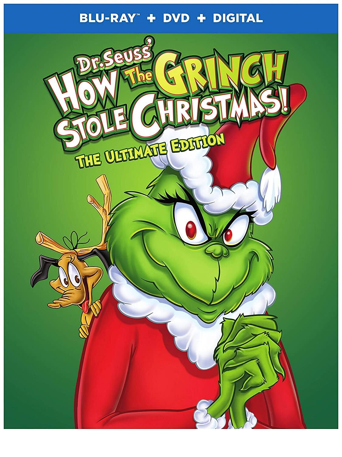 How the Grinch Stole Christmas: Ultimate Edition (Blu-ray + DVD + Digital)