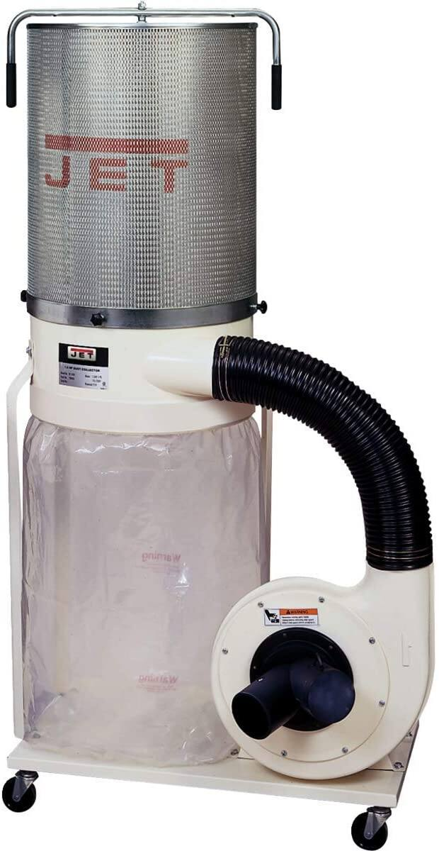 JET DC-1100VX-CK 1.5-HP Dust Collector 2-Micron Canister Kit