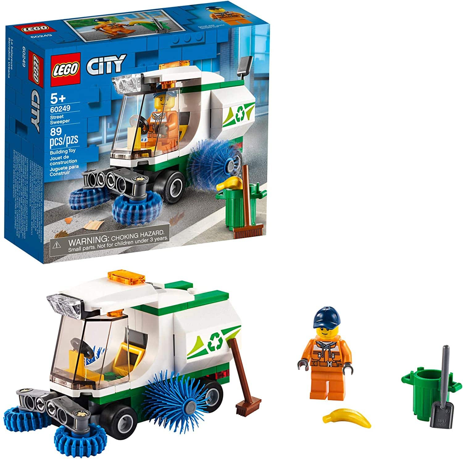 LEGO City Street Sweeper Construction Building Set