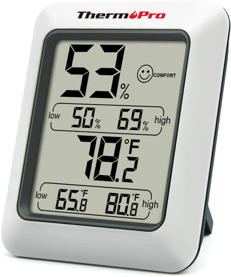 ThermoPro TP50 Indoor Digital Hygrometer and Thermometer