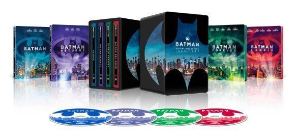 Batman 4K Film Collection Steelbook (4K UHD + Digital)