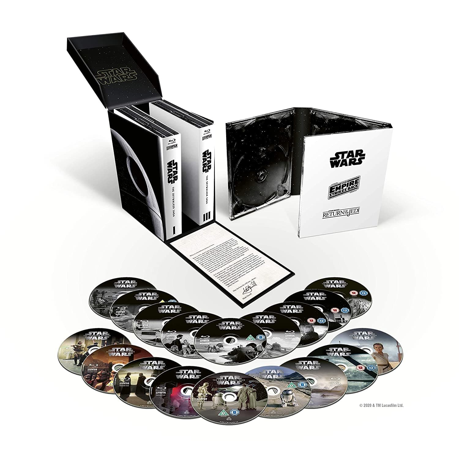 Star Wars: The Skywalker Saga Complete Blu-ray Box Set