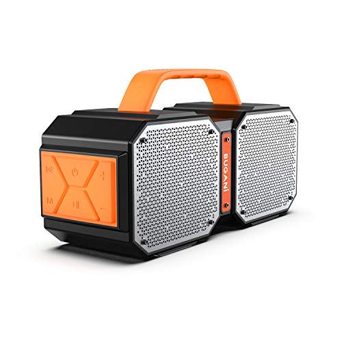 BUGANI Bluetooth Speaker,M83 40W Bluetooth 5.0 Waterproof Outdoor Speaker,2400 Minutes Play time, for Party, Camping, Gym 40% off