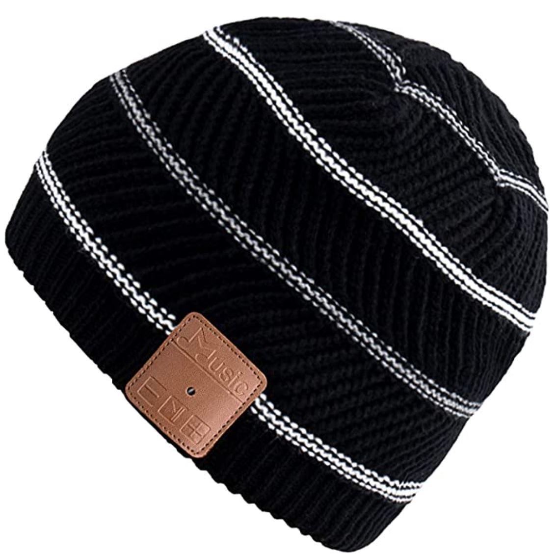 黑五好价!Mydeal无线蓝牙耳机无檐针织便帽,可听音乐打免提电话,广泛适用于健身和户外运动,多色款可选,折上折后仅售