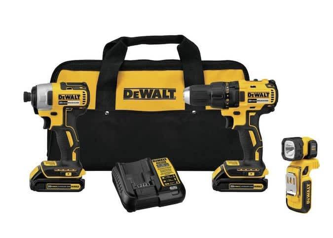 DeWalt 20V Brushless Power Tool Combo Kit