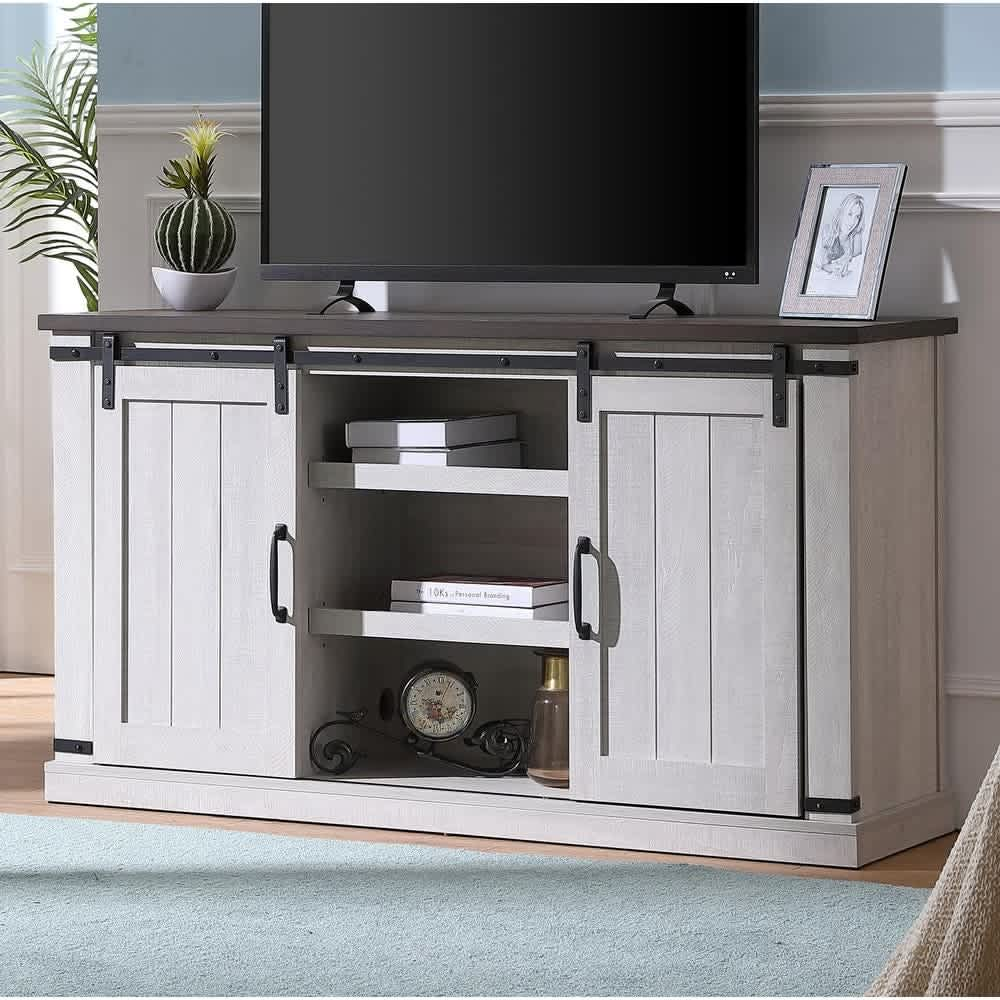 Bli Barn Door TV Stand for TVs up to 60""