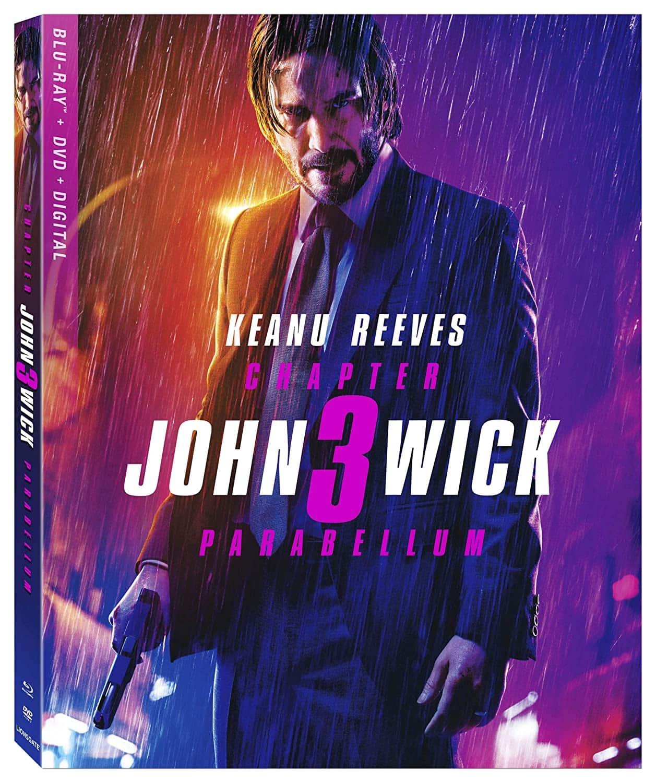 John Wick + John Wick 2 + John Wick 3: Parabellum (Blu-ray + DVD + Digital)