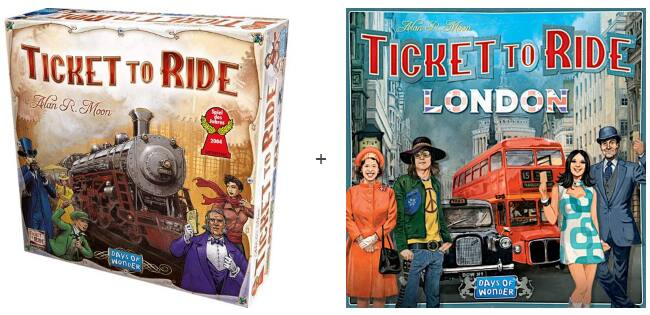 Ticket to Ride + Ticket To Ride: London Board Games