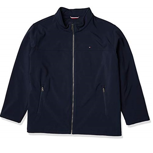 Tommy Hilfiger mens Water Resistant Softshell Jacket  (Standard and Big & Tall)