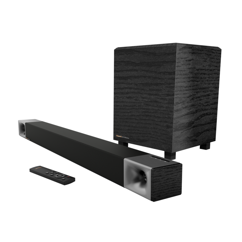 "Klipsch Cinema 400 Sound Bar w/ 8"" Wireless Subwoofer"
