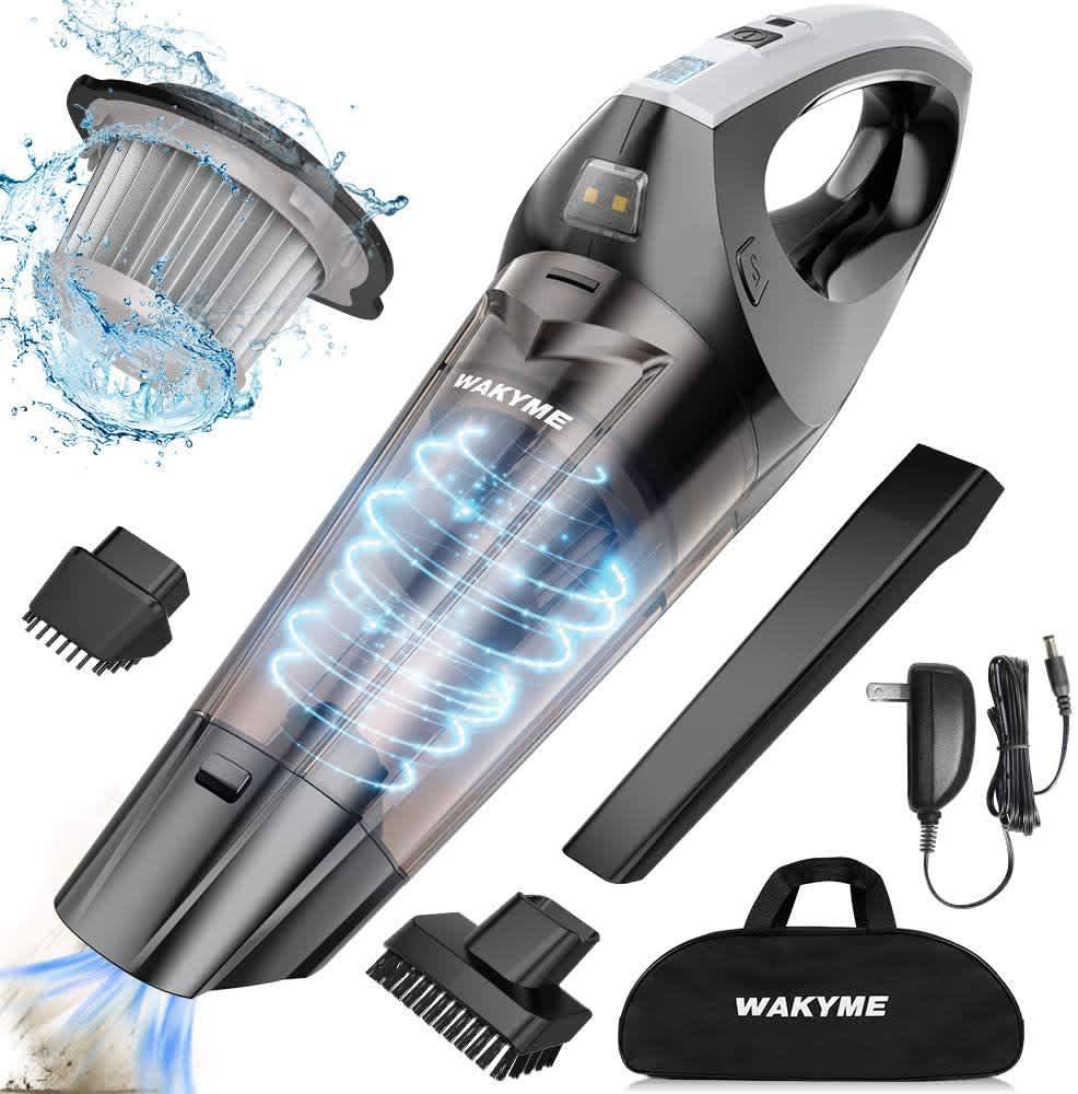 Wakyme Cordless Handheld Wet/Dry Vacuum