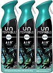 3-Pk Febreze Unstopables Air Freshener and Odor Eliminator Spray, Fresh Scent, 8.8 Oz