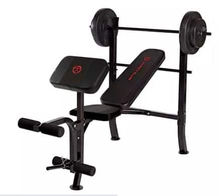 Sam's Club Members: Marcy Standard Weight Bench w/ 80lb Weight Set (MKB-2081)