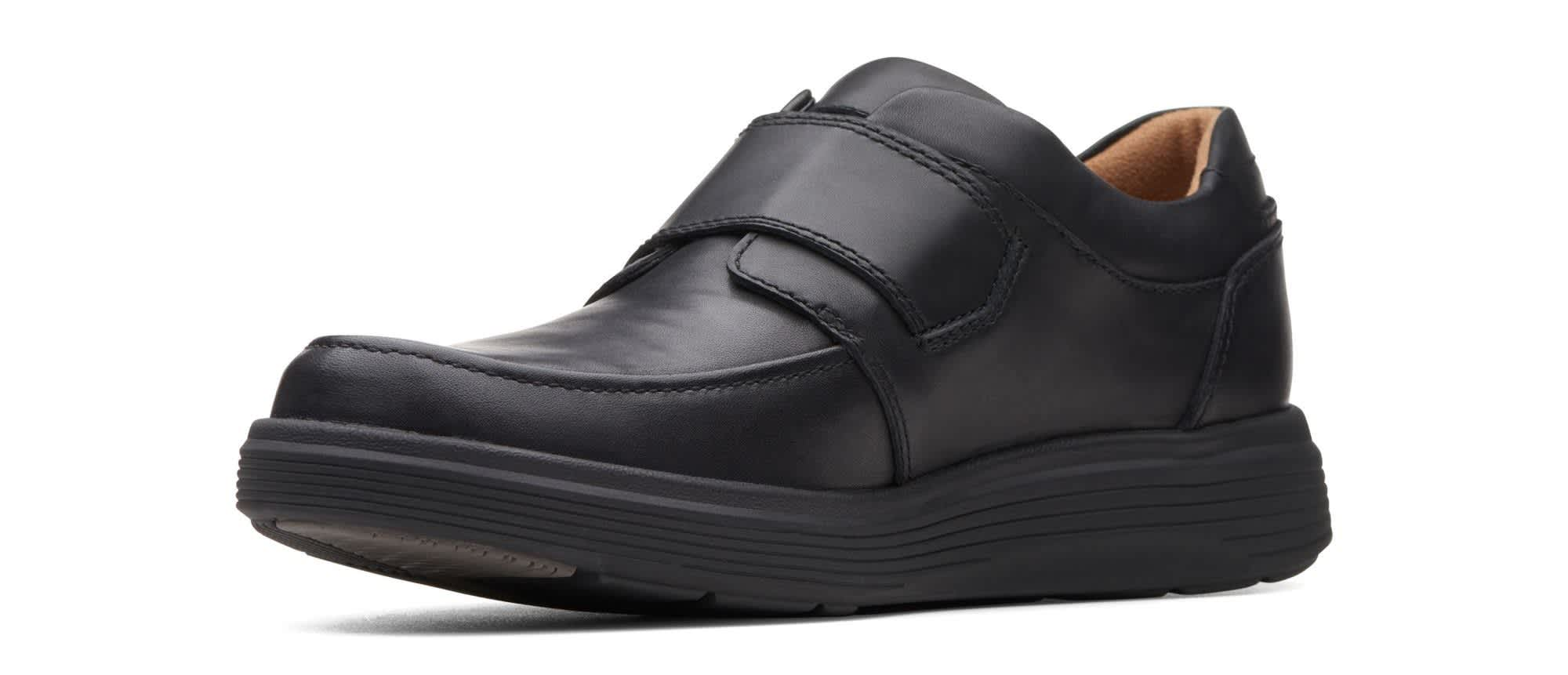 Clarks Men's Un Abode Strap Leather Shoes