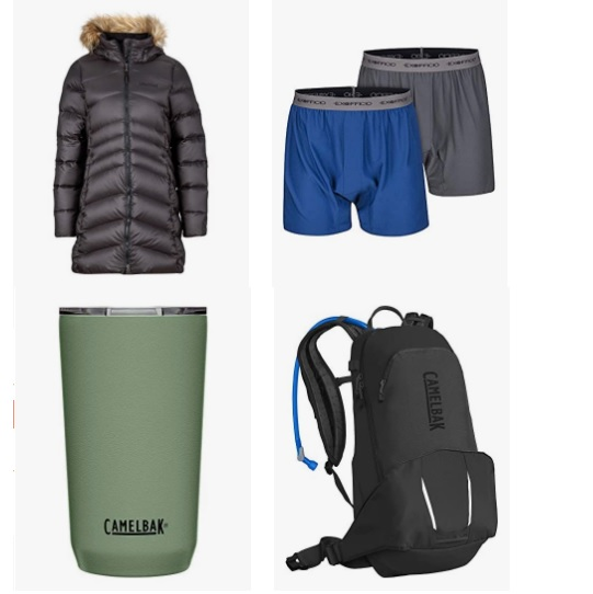 金盒特价!Amazon精选Camelbak、 Marmot、ExOfficio等品牌户外服装和用品大促销!