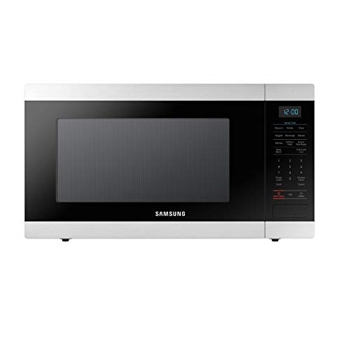 SAMSUNG Countertop Microwave Oven with 1.9 Cu. Ft. Capacity - Smart Sensor, Easy to Clean Interior, 950 Watts of Power, Auto Defrost,  Stainless Steel - MS19N7000AS/AA