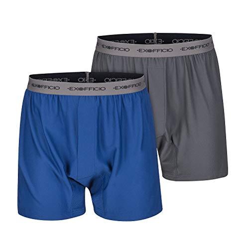 仅限今日!史低价!ExOfficio Give-N-Go 速干防菌 四角内裤,两条装