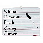 """Staples Dry-Erase Learning Board (8.9"""" x 11.8"""")"""