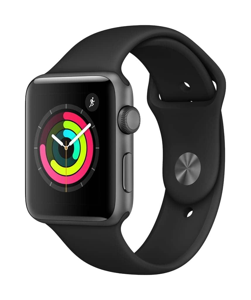 Apple Watch Series 3 GPS 42mm Smartwatch w/ Aluminum Case