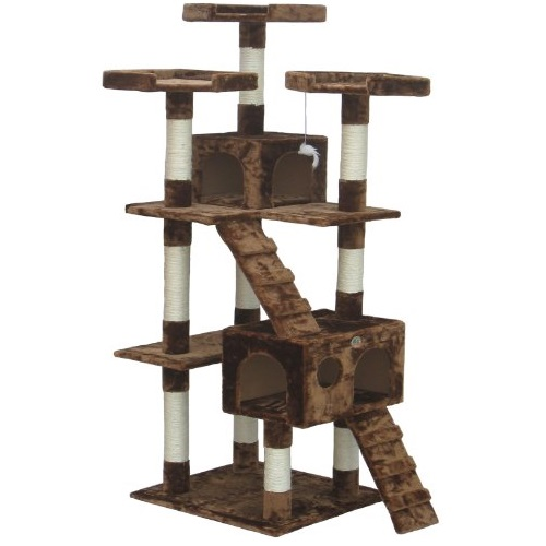 Go Pet Club Cat Tree Furniture 72 in. High Loft F2081