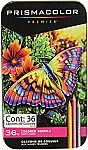 Amazon - 36-Ct Prismacolor Colored Pencils + 8-Ct EXPO Ultra Fine Tip Markers