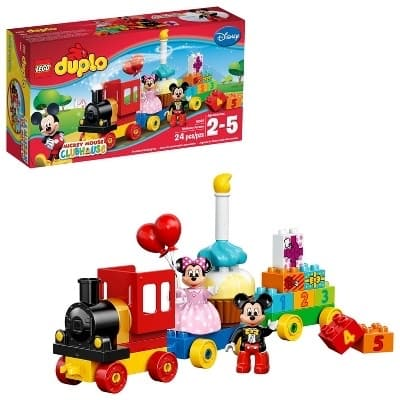 LEGO Duplo Mickey Mouse Clubhouse: Mickey & Minnie Birthday Parade Set