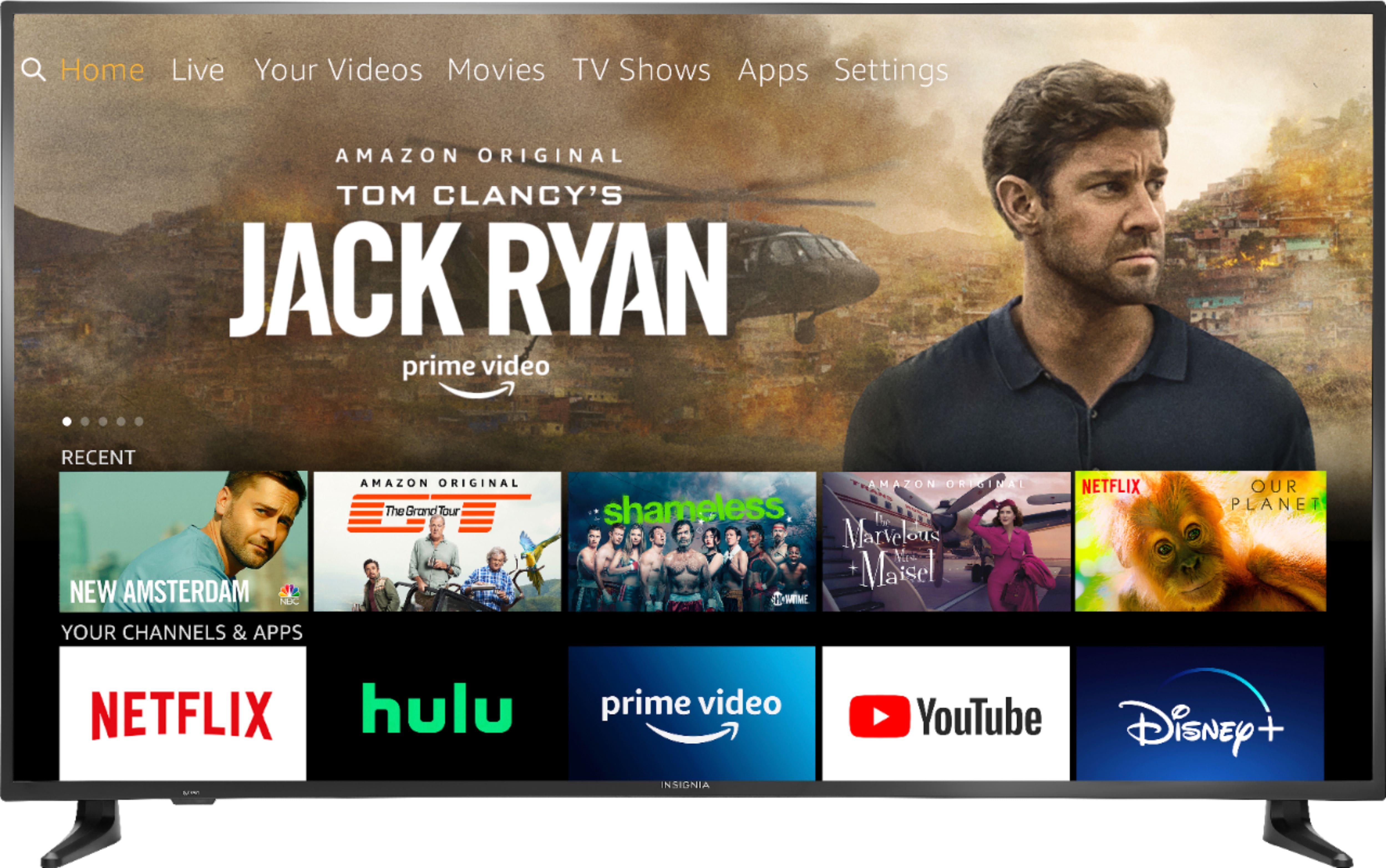 "65"" Insignia Fire TV Edition 4K Ultra HD Smart TV w/ Amazon Alexa"