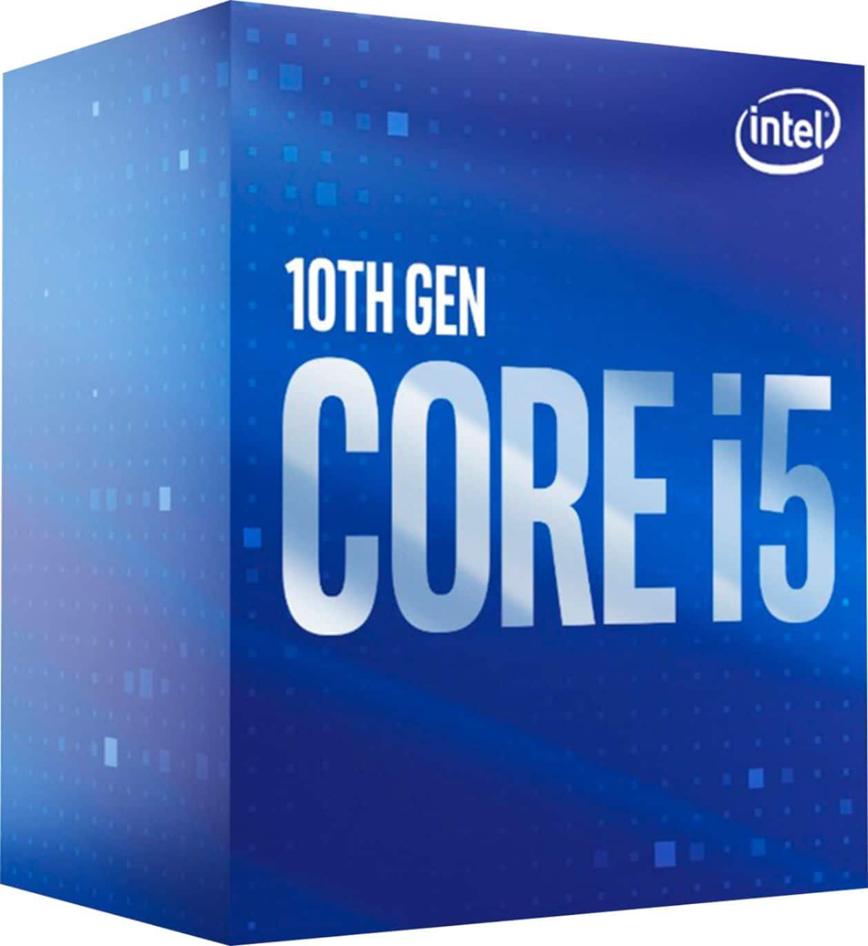 Intel Core i5-10400 2.9GHz Six-Core LGA 1200 Desktop Processor