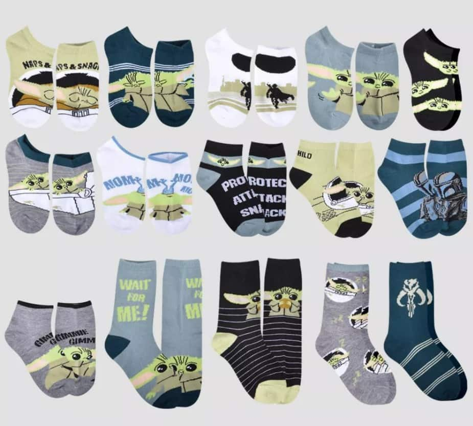 Women's, Men's or Kids' 15 Days Socks Advent Calendar (various styles)