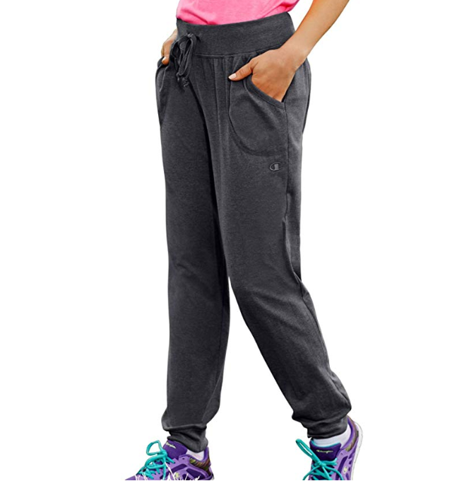 Champion Women's Jersey Pocket Pant