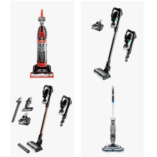 金盒特价!Amazon精选Bissell 地板、地毯清洁机器促销!