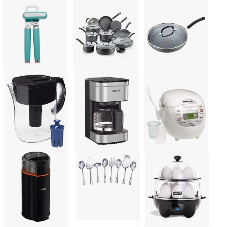 金盒特价!Amazon精选 Le Creuset、 Brita、 Hamilton Beach、Zojirushi等品牌水杯、厨房电器、锅具等厨房用品大促销!