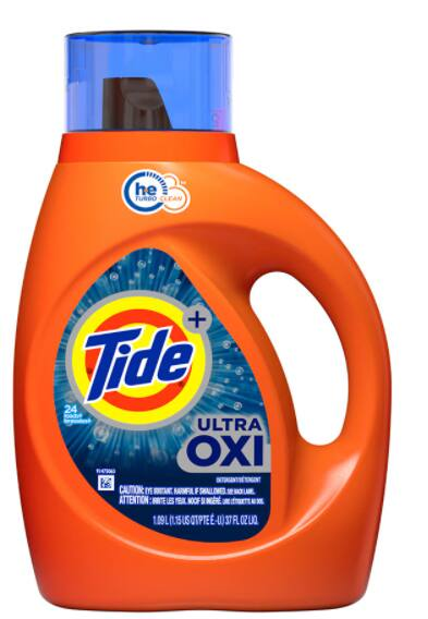 37oz Tide Liquid Laundry Detergent (various)