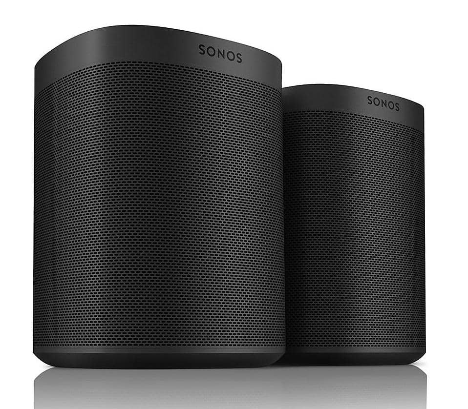 Sonos One SL Shadow Edition 2-Pack