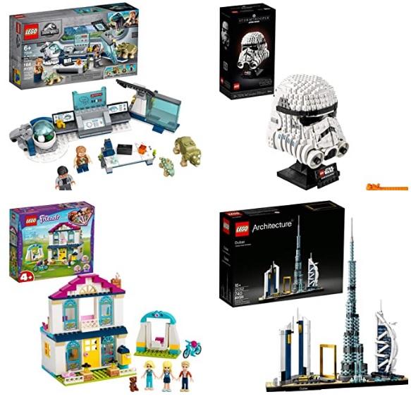 节日好礼物!Amazon有大量的Lego乐高玩具促销!