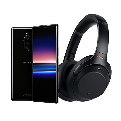 """仅限今日!超划算!Sony Xperia 1 解锁版智能手机6.5"""" 4K HDR OLED/ 128GB + 索尼WH1000XM3 主动降噪蓝牙耳机套装"""