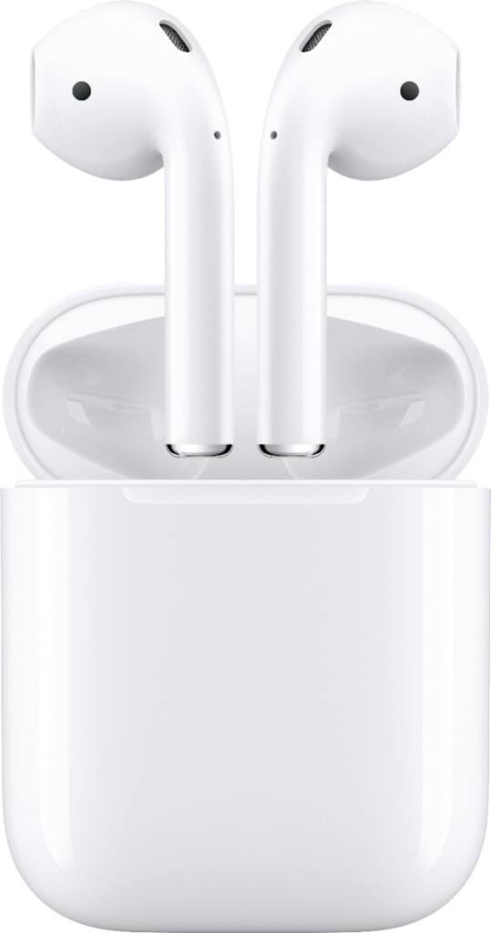 Apple AirPods Wireless Earbuds w/ Standard Charging Case (2nd Gen)