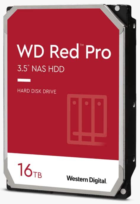 16TB Western Digital Red Pro NAS Hard Drive + 64GB SanDisk MicroSD Card                      EXPIRED