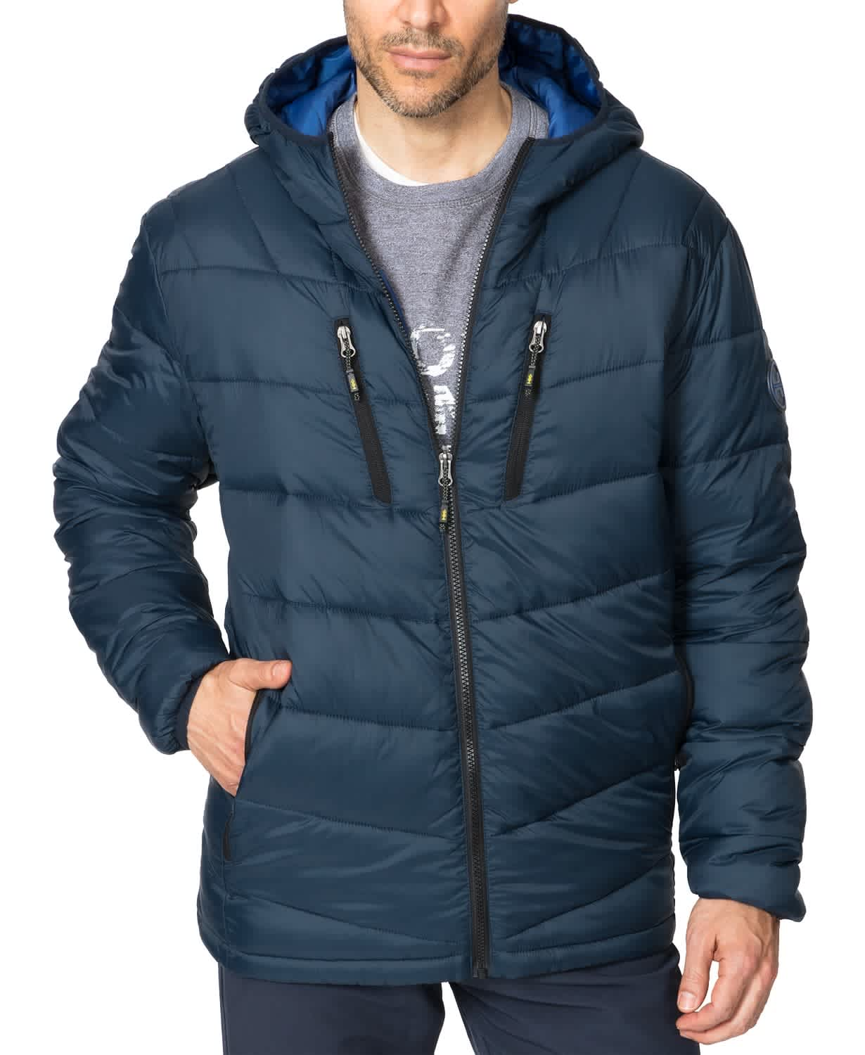 Hawke & Co. Men's The Chevron Packable Down Jacket