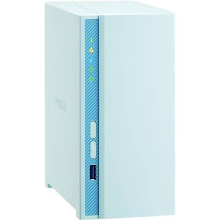 QNAP TS-230 2-Bay NAS Enclosure: Realtek RTD1296, 2GB DDR4, 4GB Flash