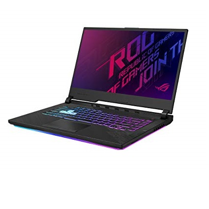 "ASUS ROG Strix G15 (2020) Gaming Laptop, 15.6"" 240Hz FHD IPS Type Display, NVIDIA GeForce RTX 2070, Intel Core i7-10750H, 16GB DDR4, 1TB PCIe NVMe SSD,  , G512LW-ES76"