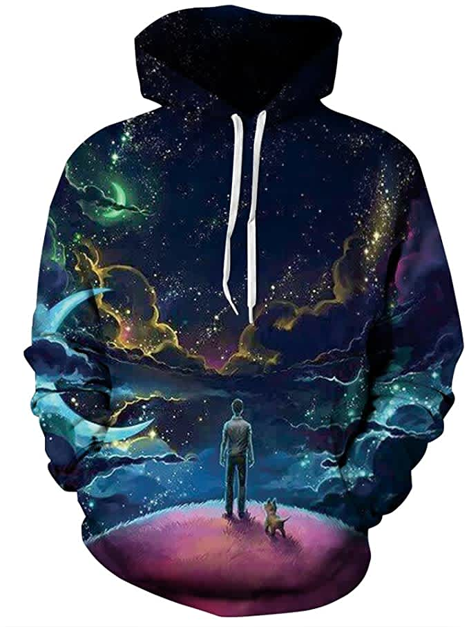 Newcosplay Adult's Novelty Hooded Sweatshirt