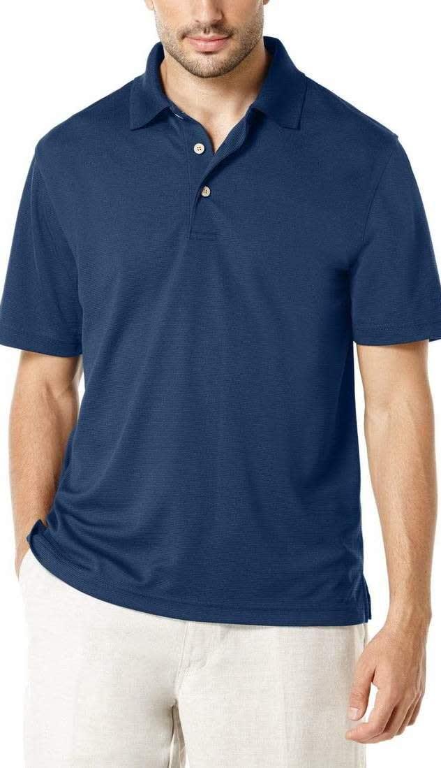 Cubavera Men's Textured Polo Shirts